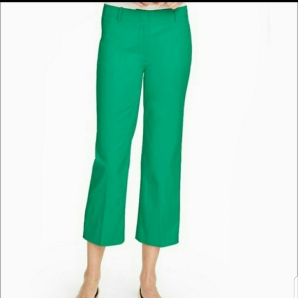 Talbots Pants - || TALBOTS || Chelsea Crop Pants Green Size 6